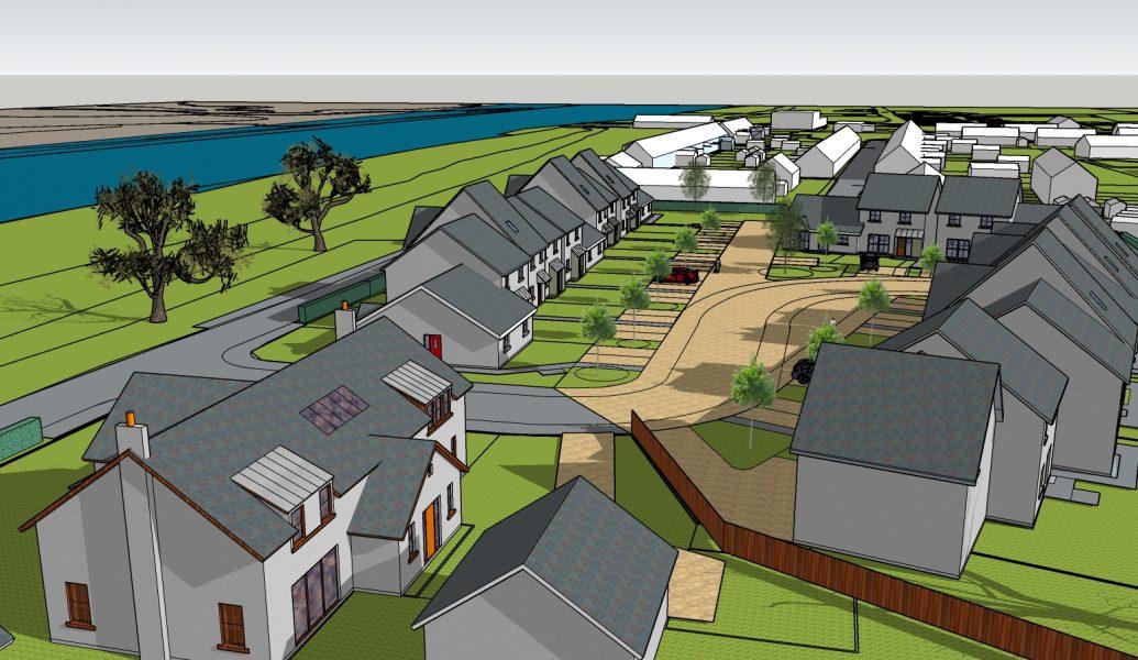 Glencaple house 3d drawing