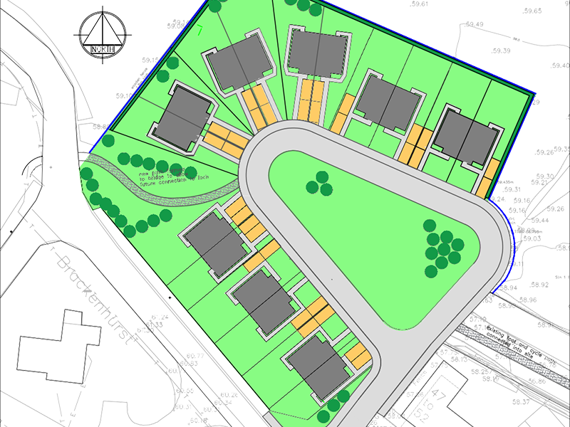 Lochmaben Private Housing Project Layout