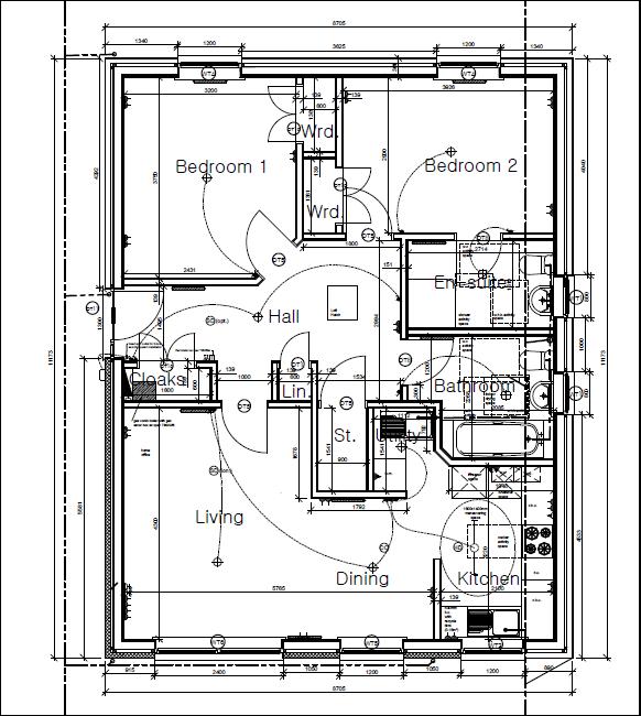 Plot eleven Shore Road Floor Plan
