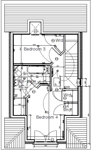 Plot Three Shore Road Second Floor Plan