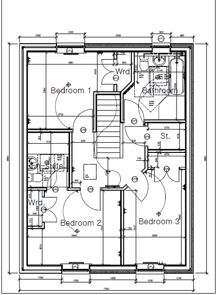Plot Four Shore Road First Floor Plan