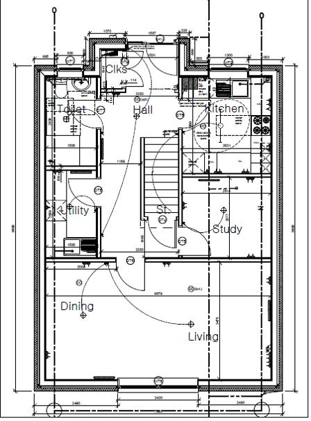 Plot Four Shore Road Ground Floor Plan