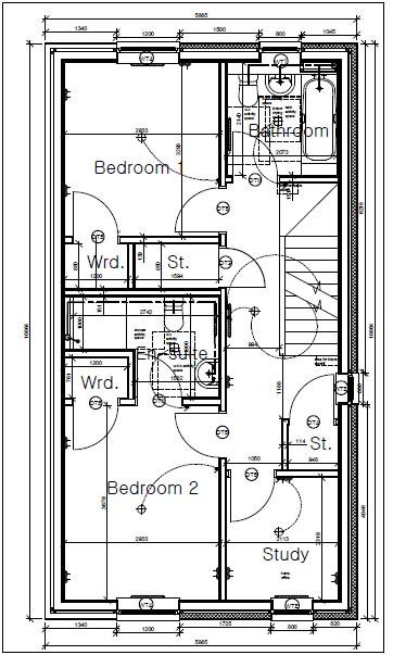 Plot Five Shore Road First Floor Plan