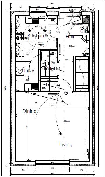 Plot Five Shore Road Ground Floor Plan
