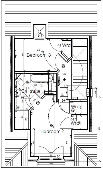 Plot nine Shore Road Second Floor Plan